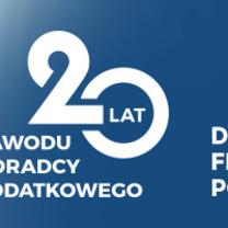 """""""20- lecie zawodu doradcy podatkowego""""-reklama w PAP i Rzeczpospolitej"""