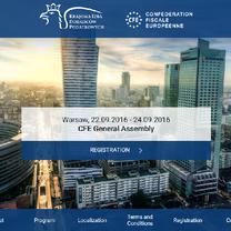 W Warszawie rozpocznie się Ogólne Zgromadzenie CFE, którego współorganizatorem jest Krajowa Rada Doradców Podatkowych