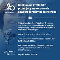 Wyniki I edycji konkursu na krótki film promujący wykonywanie zawodu doradcy podatkowego