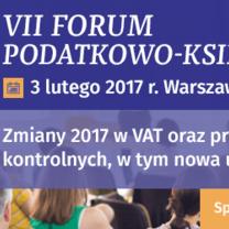 Wolters Kluwer zaprasza na VII Forum Podatkowo-Księgowe