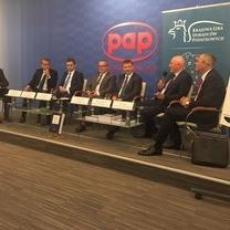 Trwa Debata w Polskiej Agencji Prasowej z udzialem przedstawicieli KRDP