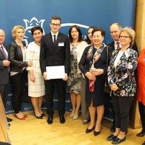 Zwycięzcy VIII Ogólnopolskiego Finału Konkursu Wiedzy o Podatkach