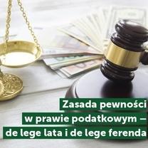 Małopolski Oddział KIDP i Katedra Prawa Cywilnego i Gospodarczego Uniwersytetu Ekonomicznego w Krakowie zapraszają na Ogólnopolską Konferencję Podatkową