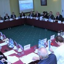 Prof. Adam Mariański i Anna Misiak na spotkaniach doradczych i posiedzeniu Rady Głównej BCC