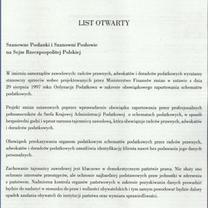 List otwarty KRDP, KRRP i NRA do posłanek i posłów Sejmu RP