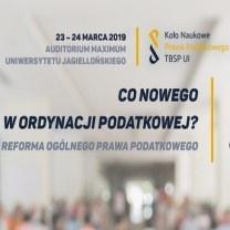 """Konferencja """"Co nowego w Ordynacji Podatkowej? - reforma ogólnego prawa podatkowego"""""""