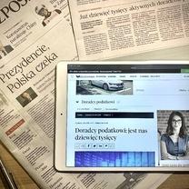 """""""Rzeczpospolita"""": Coraz więcej osób wybiera karierę doradcy podatkowego."""