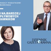 Doradcy podatkowi wśród 50 najbardziej wpływowych prawników w Polsce