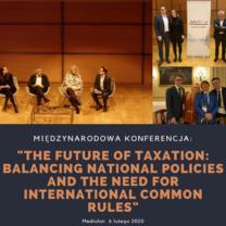 """Polska delegacja na konferencji """"The Future of Taxation"""" w Mediolanie"""