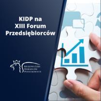 KIDP na Forum Przedsiębiorców Małopolski