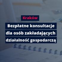 Kraków: Bezpłatne porady dla zakładających działalność gospodarczą