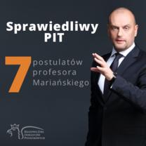 Sprawiedliwy PIT - 7 postulatów profesora Mariańskiego