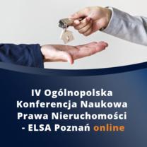 KRDP patronem IV Ogólnopolskiej Konferencji Naukowej Prawa Nieruchomości