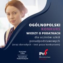Ogólnopolski Konkurs Wiedzy o Podatkach
