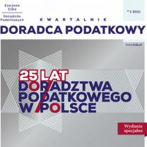 Kwartalnik Doradca Podatkowy - cyfrowe wydanie specjalne 1/2021 - do bezpłatnego pobrania
