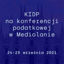 KIDP na konferencji podatkowej w Mediolanie